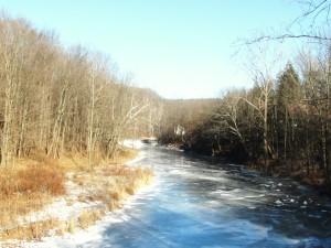 Meshoppen Creek Ice